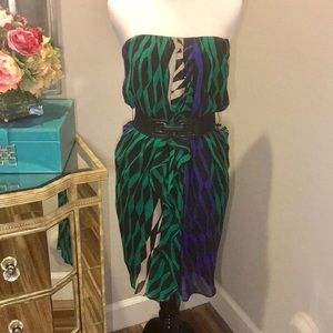NWOT BCBG MaxAzria Silk Dress